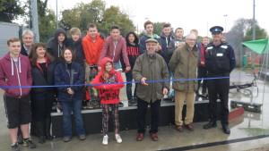 Skate Park opening ceremony - 9 November 2013