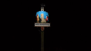 August 2016 Thanks to Peter Leigh for planning and installing the solar light above the village sign.